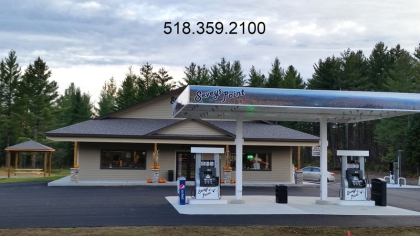 Located at the corners of Rt3 & Rt56 directly on the trails!
